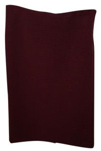 Ann Taylor LOFT Skirt Deep Maroon Red