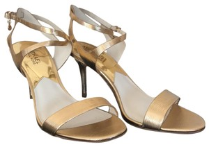 Michael Kors Pale Gold Pumps