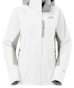 The North Face White/Gray Jacket