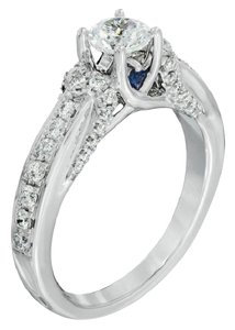 Vera Wang Vera Wang Engagement Solitaire Ring With Saphire