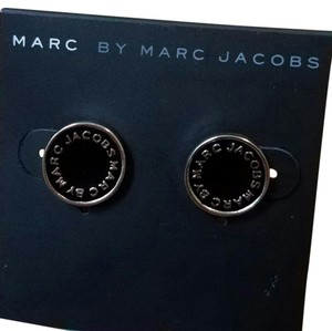 Marc by Marc Jacobs Marc Jacobs logo disc earings.