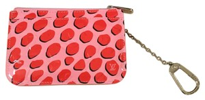 Louis Vuitton Brand new! Discontinued Jungle Print Key Pouch in Pink