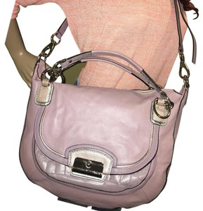 Coach Satchel in Lavender