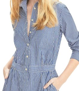 Banana Republic short dress Striped Blue. on Tradesy