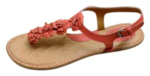 B.O.C. Flower Born New Salmon Sandals