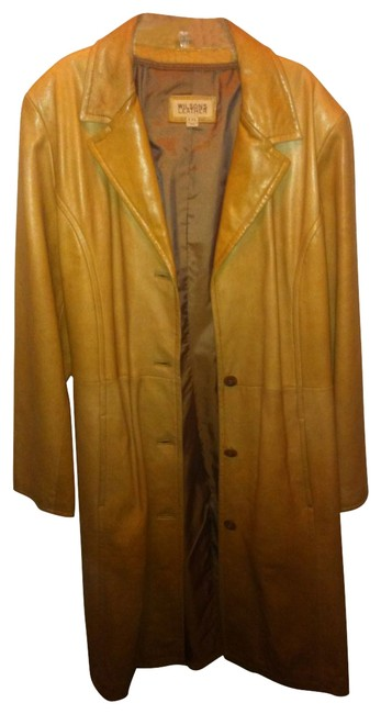 Preload https://img-static.tradesy.com/item/20685/wilsons-leather-carmel-trench-coat-size-16-xl-plus-0x-0-0-650-650.jpg