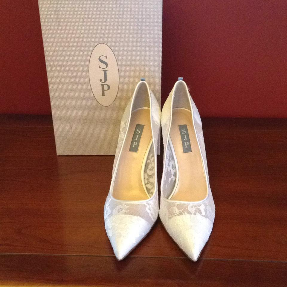 Pumps Parker Jessica Fawn White by Sarah SJP YxtUZg