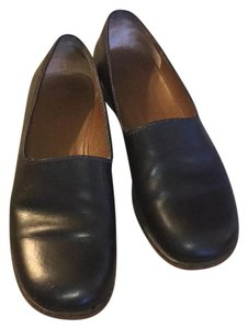 Henry Cuir Italian Leather Loafer Black Flats