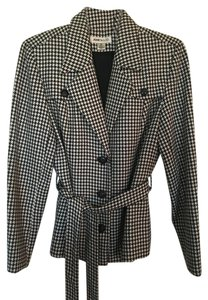 Jones New York Houndstooth Black/White Black/white Jacket