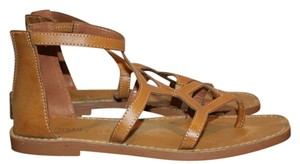 Luxury Rebel Gladiator tan Sandals