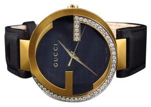 Gucci Mens Gucci Latin Grammy 42MM Interlocking Diamond Watch YA133208 1.5Ct