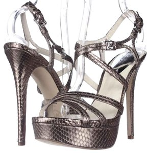 Michael Kors Pewter Platforms