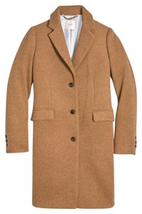 J.Crew Camel Wool Fall Winter Pea Coat