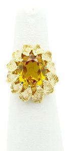 NYCFineJewelry Citrine Ring 14K Yellow Gold 4 CT TGW