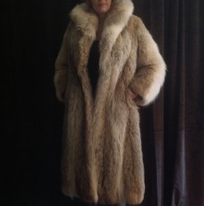 Lloyd's Furs Denver CO Vintage Fur Monogram Fur Coat