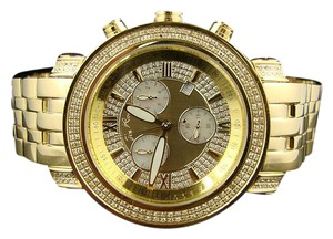 Joe Rodeo Mens Joe Rodeo Gold Tyler 200 JTY1 Diamond Watch 2.0 Ct