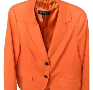 Escada Pumpkin colored Jacket