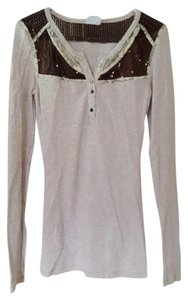 Free People T Shirt Oatmeal