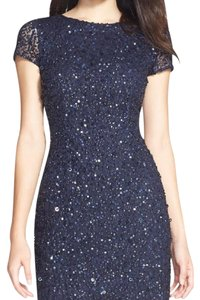 Adrianna Papell Bridesmaid Wedding Sparkle Sequin Dress