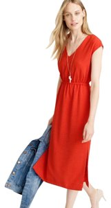 red Maxi Dress by J.Crew
