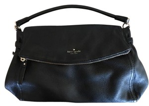 Kate Spade Leather Black Hobo Bag