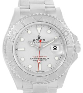 Rolex Rolex Yachtmaster Steel Platinum Automatic Mens Watch 116622 Box Paper