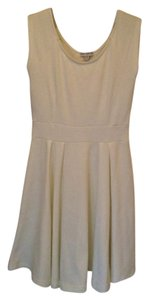 Cotton On short dress White Scoop Back Sleeveless Fit 'n Flare on Tradesy