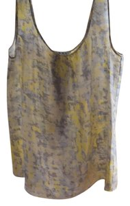 CAbi Top yellow grey