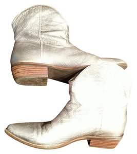 Nicole Silver leather Boots