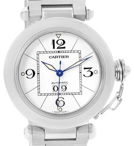 Cartier Cartier Pasha C Midsize Big Date Stainless Steel Unisex Watch W31055M7