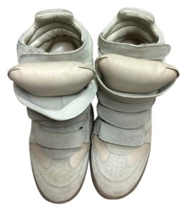 Isabel Marant Sneakers Beige Wedges