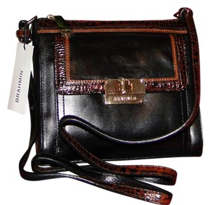 Brahmin Mimosa Leather Cross Body Bag