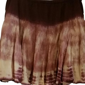 Lucky Brand Skirt Tie dyed