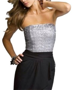 Express Sparkle Strapless Party Formal Dress