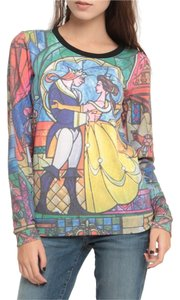 Disney Crewneck Beauty & The Beast Sweater
