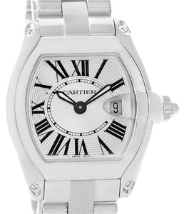 Cartier Cartier Roadster Silver Dial Ladies Stainless Steel Watch W62016V3