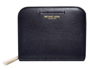 Michael Kors NWT ($275 MSRP) MK Collection Premium Zip Around Coin Purse Wallet