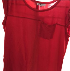 CAbi T Shirt red