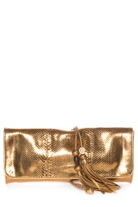 Gucci Gold Clutch