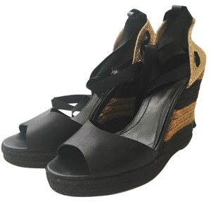 Fendi Espadrille black Wedges