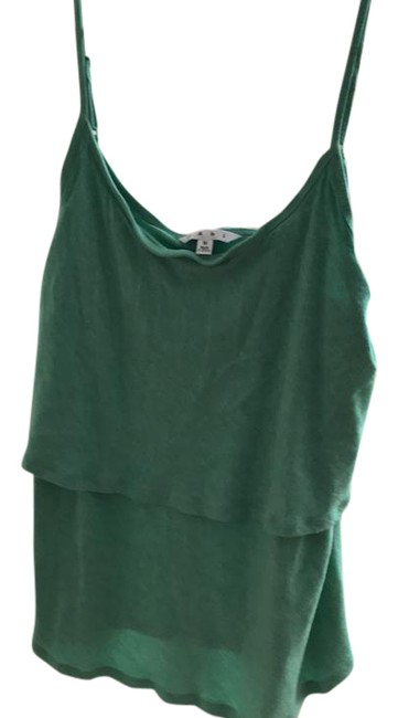 Item - Green Knit Tiered Camille Tank Top/Cami Size 8 (M)