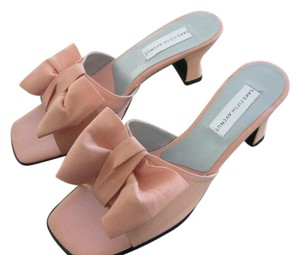 Saks Fifth Avenue Peachy Pink Sandals