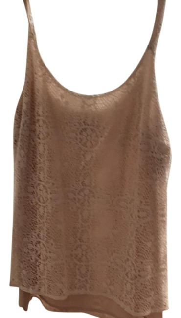 Item - Girl It Camille Nude and Cream Top
