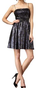 Aidan Mattox Prom Sequin Fit Flare Dress