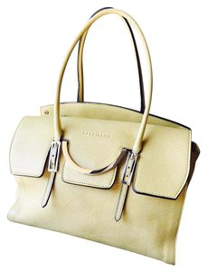 Coccinelle Tote in yellow