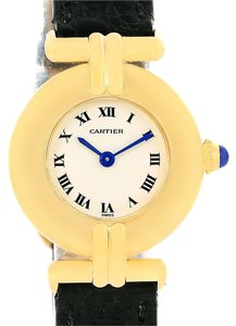 Cartier Cartier Colisee 18K Yellow Gold Quartz Round Ladies Watch
