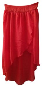 Charlotte Russe Skirt Coral