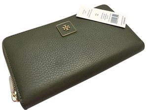 Tory Burch * Tory Burch Clara Zip Continental Wallet GREEN