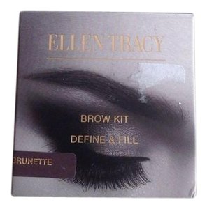 Ellen Tracy Ellen Tracy Eye Brow Kit Define & Fill Brunette NEW
