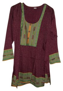 Other Top Green and Maroon
